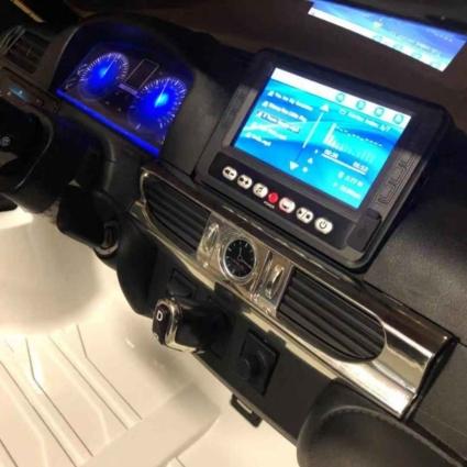 Электромобиль LEXUS LX 570 MP4 4WD красный (сенсорный дисплей, легко съемный аккумулятор, 2х местный, резина, кожа, пульт, музыка)
