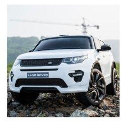 Электромобиль Land Rover Discovery Sport HSE 12V - HL-2388 белый (колеса резина, сиденье кожа, пульт, музыка)
