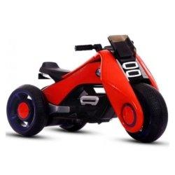 Электромотоцикл  BMW Vision Next 100 (трицикл) - BQD-6288 красный (широкие колеса, музыка, свет фар)
